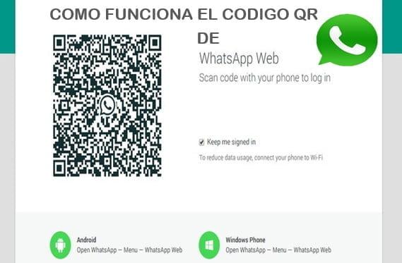 omo funciona el codigo de whatsapp web