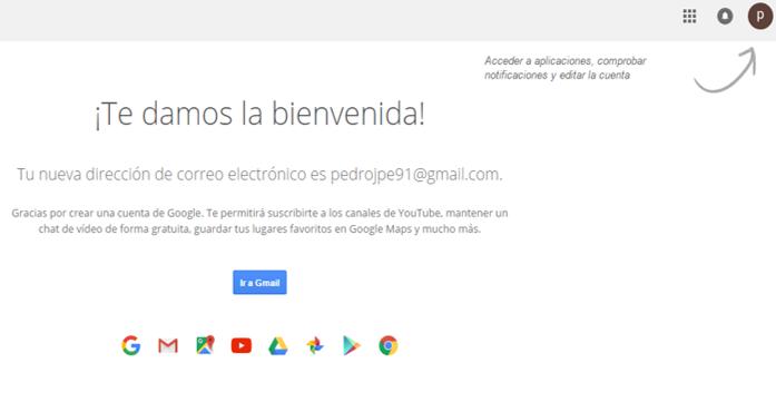 como crear una cuenta en gmail